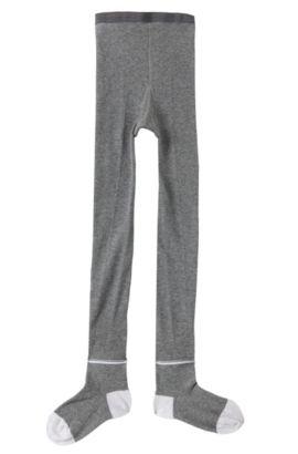 Strumpfhose aus Baumwoll-Mix: 'J10082', Grau