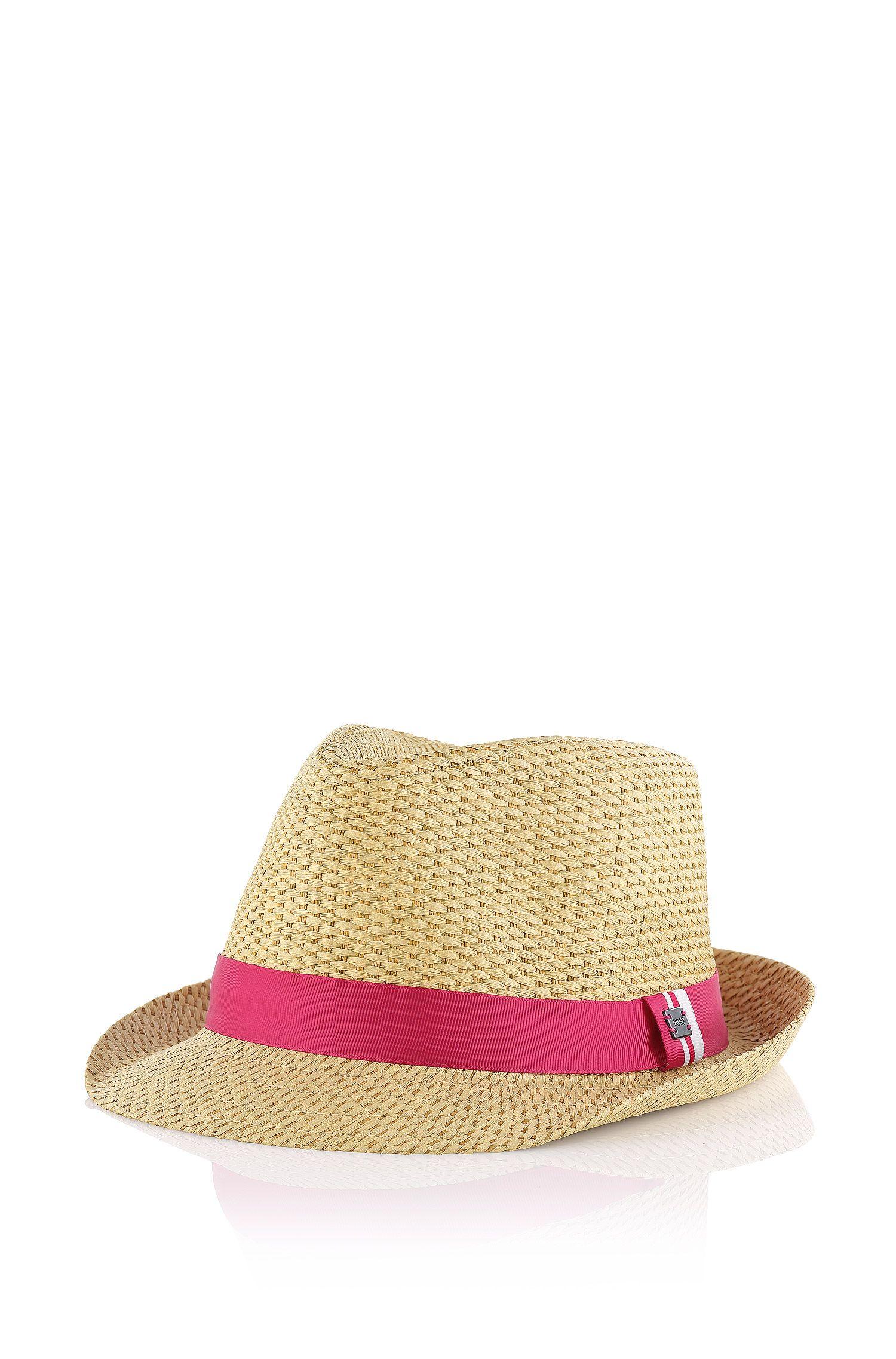 Chapeau en paille pour enfant «J11060» en fibre de papier