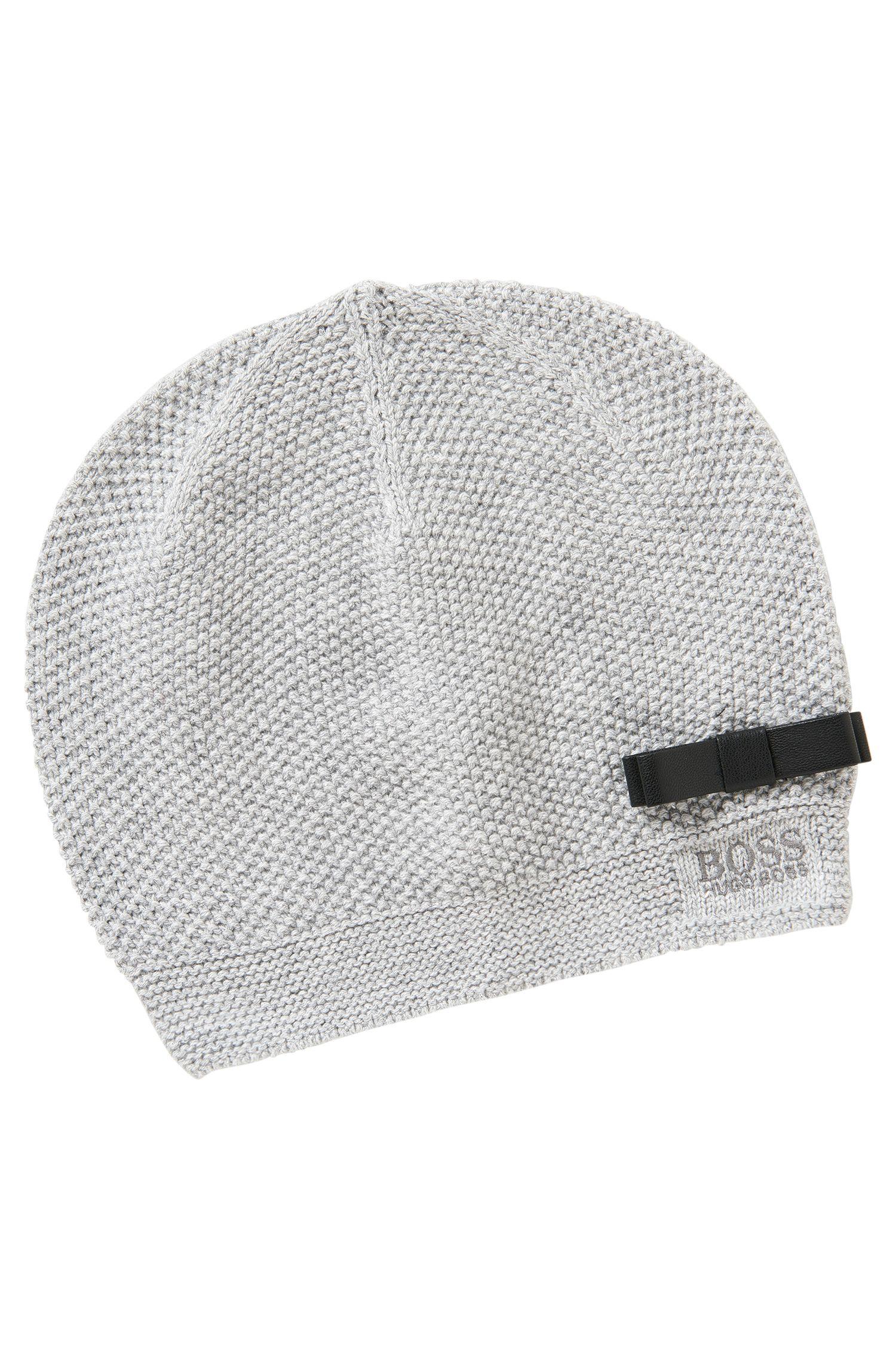 Bonnet pour enfant en coton mélangé: «J11065»