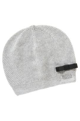 Kids-Mütze aus Baumwoll-Mix: 'J11065', Grau