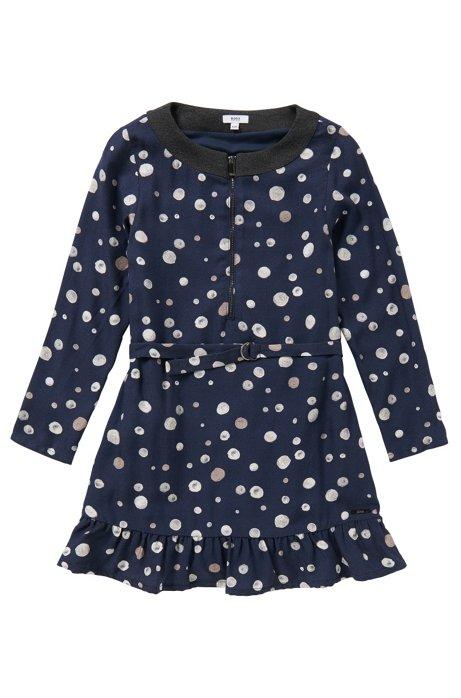 Dress in viscose: 'J12129', Dark Blue