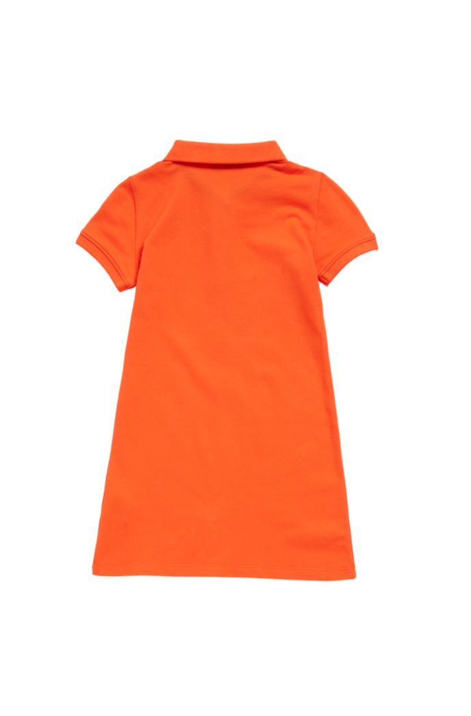 Kids-Polokleid aus Stretch-Baumwolle