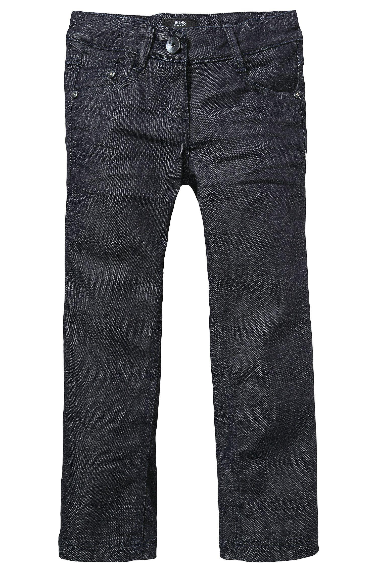 Jeans pour enfant «J14140» en coton mélangé