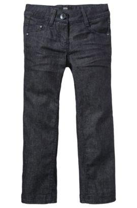 Jeans pour enfant «J14140» en coton mélangé, Bleu foncé