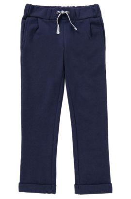 Pantalon de jogging en viscose mélangée: «J14158», Bleu foncé