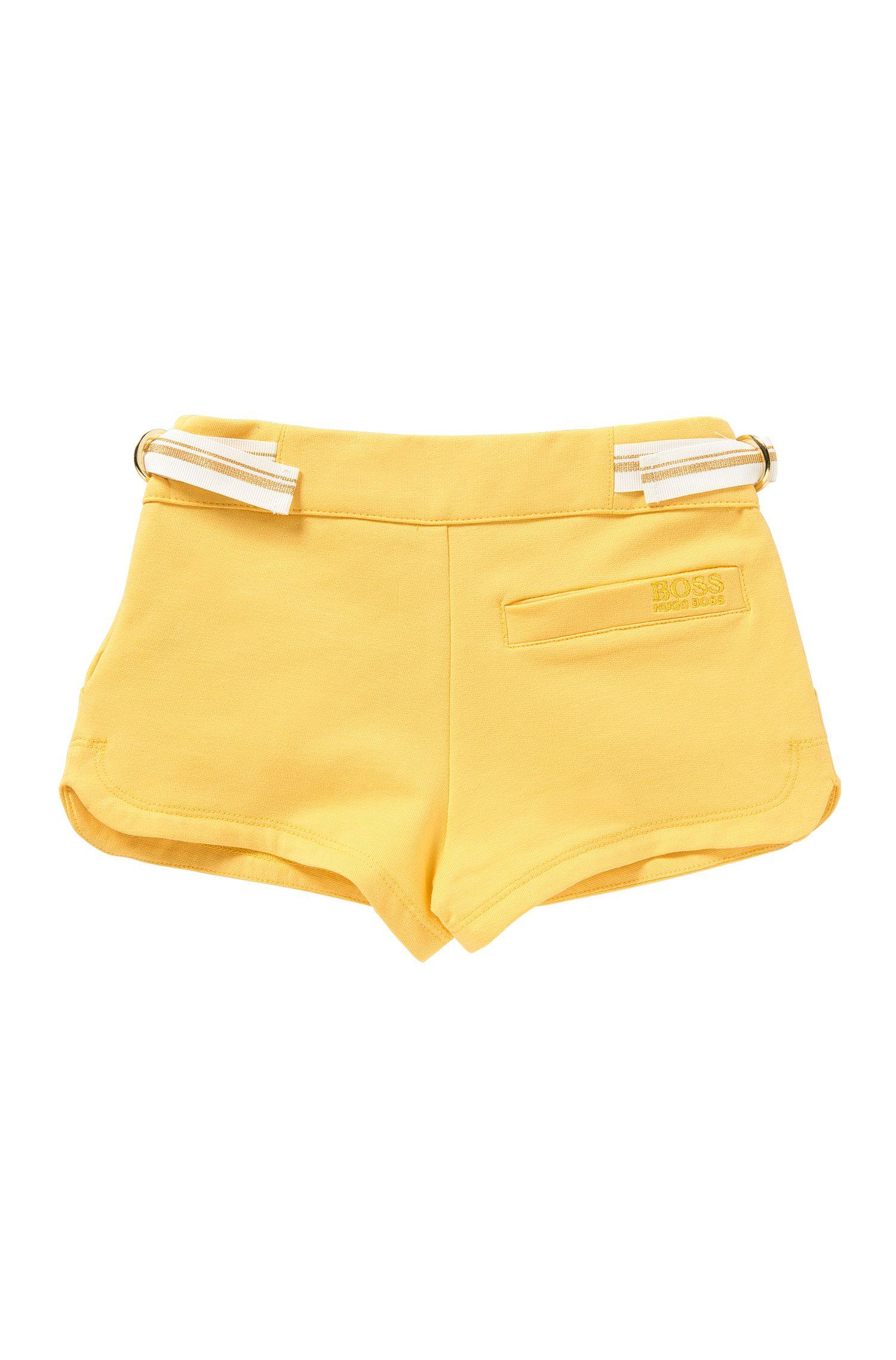 Kids-Shorts aus Stretch-Baumwolle mit Bindeband: 'J14173'