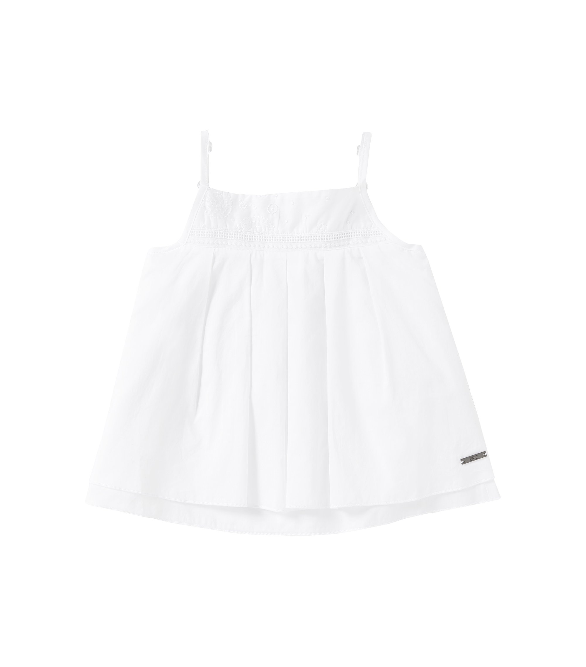 Top aus Baumwolle: 'J15282', Weiß