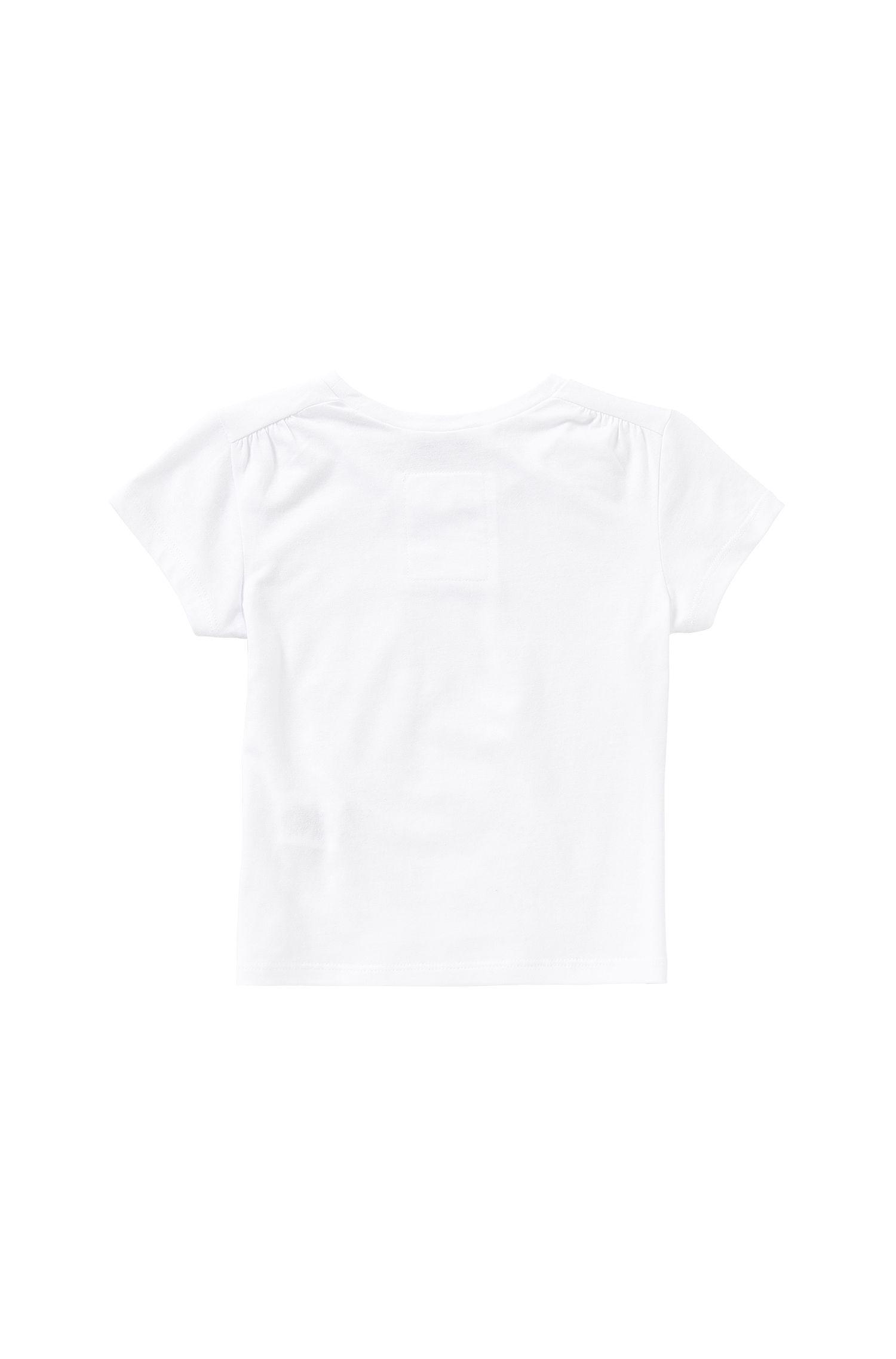 T-shirt imprimé pour enfant en coton mélangé: «J15340»