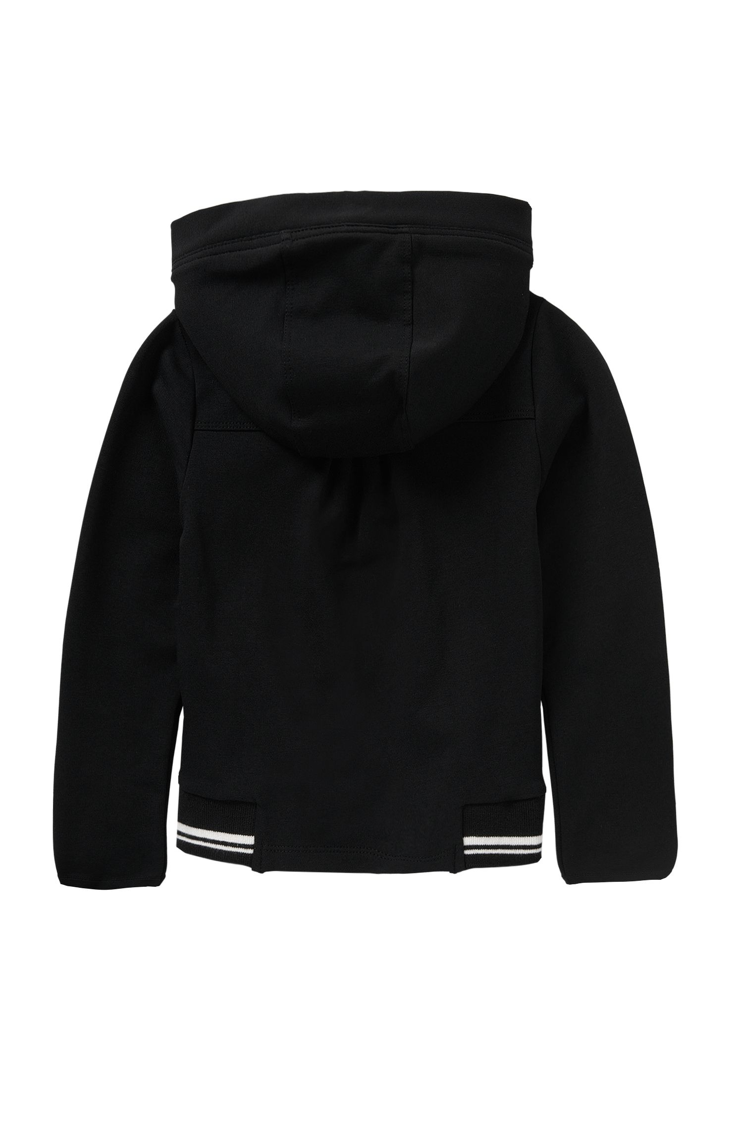 Kids-Sweatshirt-Jacke aus Stretch-Baumwolle: 'J15347'