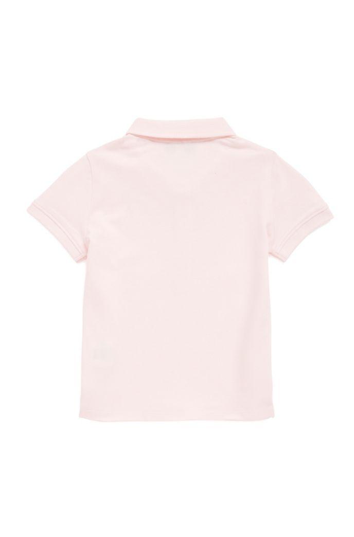 Kids-Poloshirt aus elastischem Baumwoll-Piqué