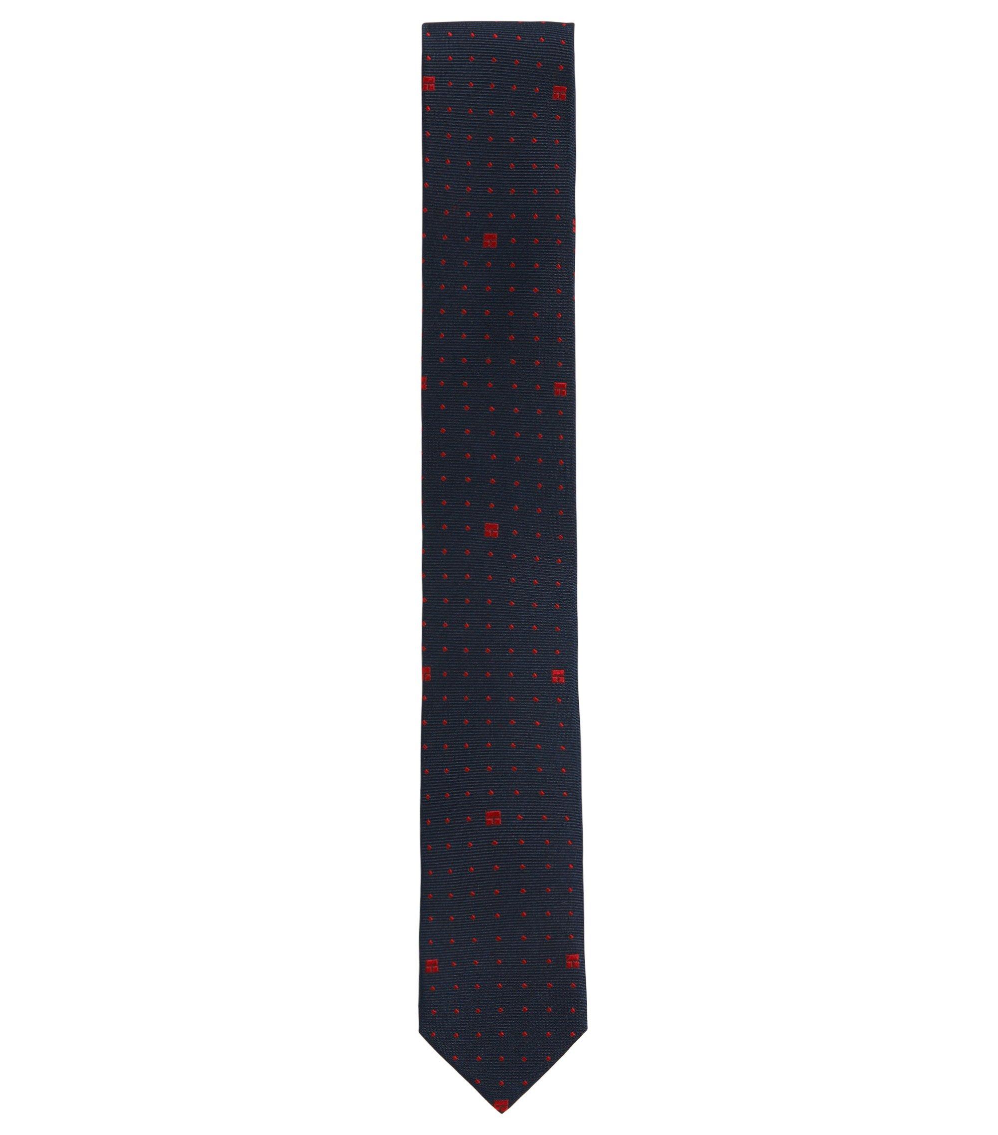Patterned kids' tie in silk: 'J20189', Patterned