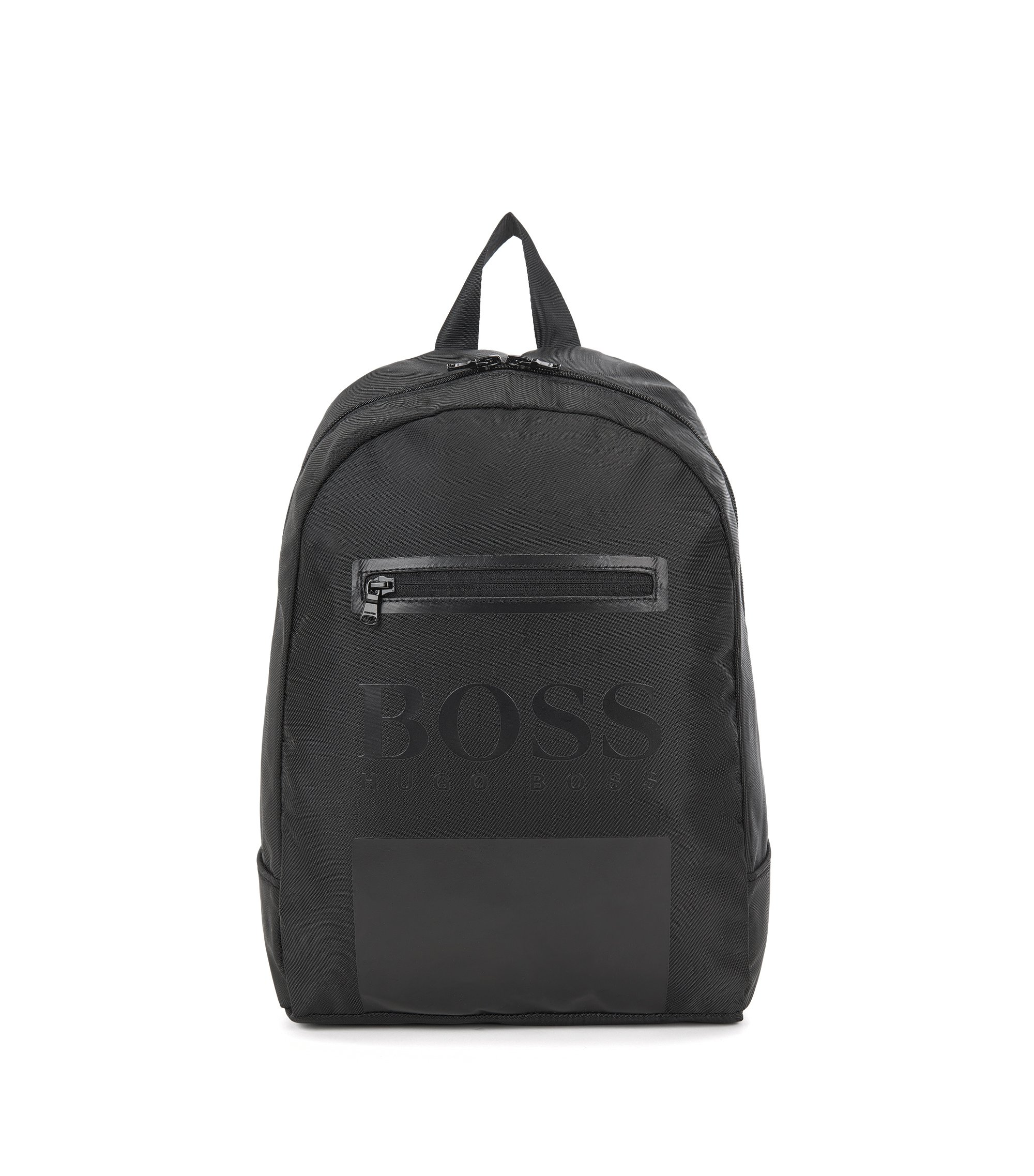 Kids' rucksack in material blend: 'J20200', Black