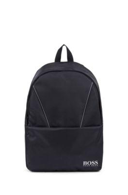 Kids' logo backpack and bottle holder, Dark Blue