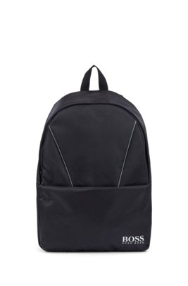 Kids' logo backpack and bottle holder, Dark Blue