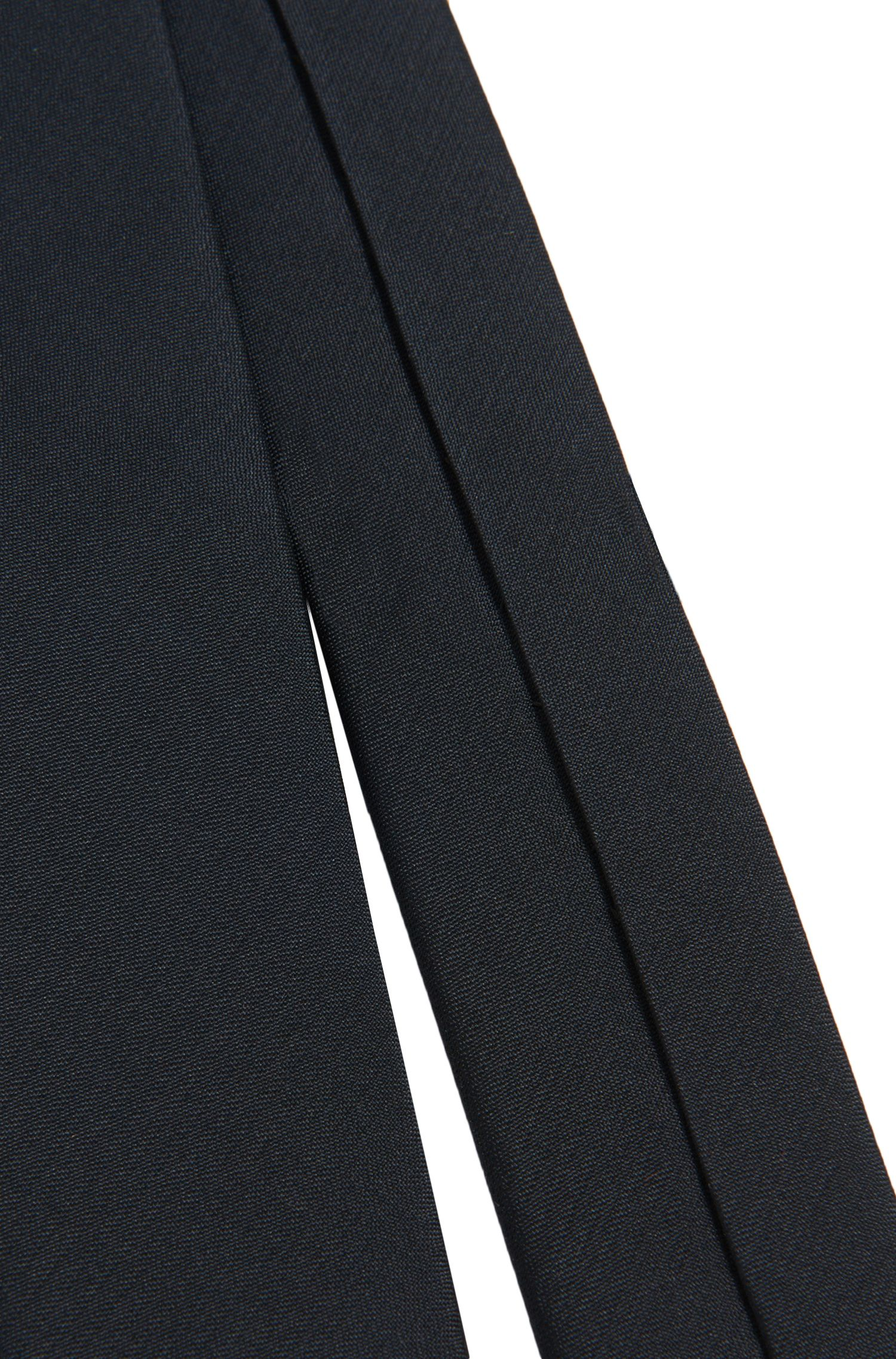 Plain-coloured kids' tie in silk: 'J20U38'