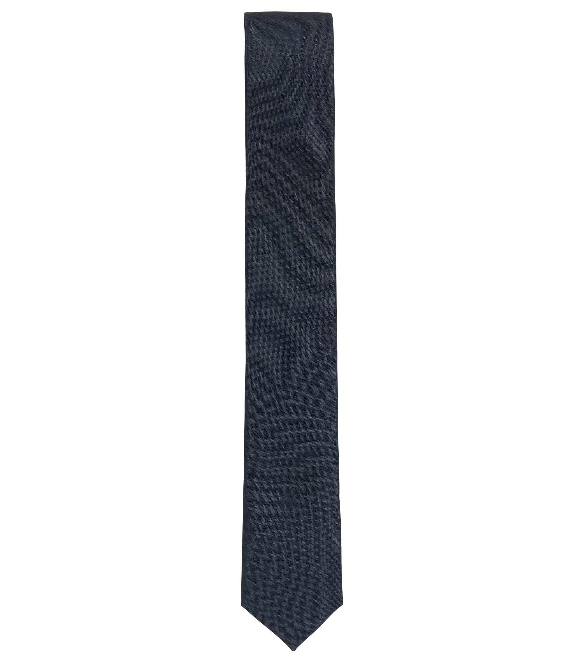 Kids' formal tie in rich silk, Dark Blue