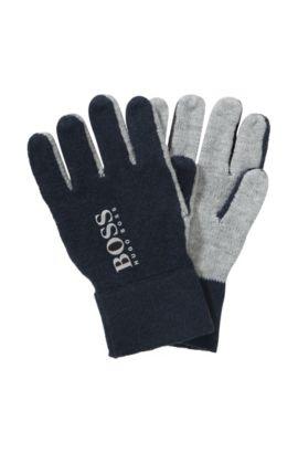 Kids-Handschuhe ´J21127` aus Baumwollkomposition, Gemustert