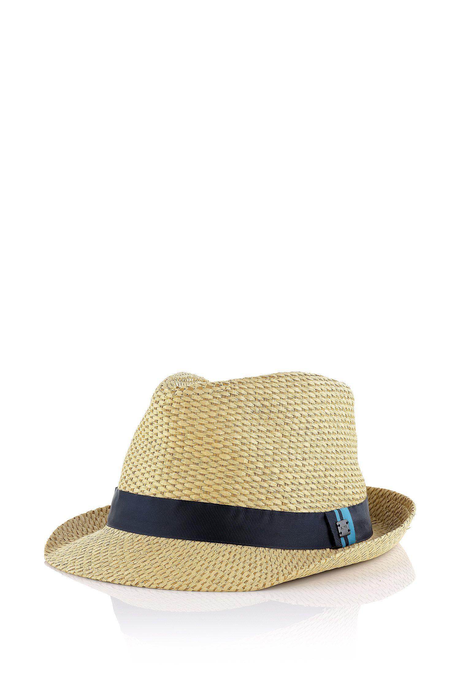 Chapeau en paille pour enfant «J21135» en fibre de papier