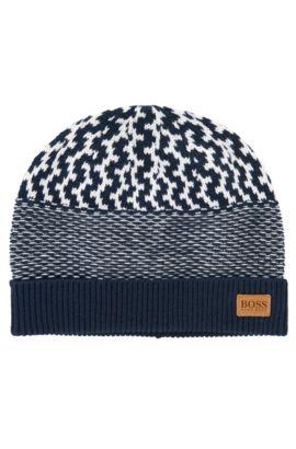 Mütze aus Baumwolle: 'J21152', Dunkelblau