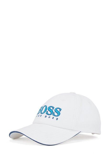 8be07ad73b8 BOSS - Kids  cotton-twill baseball cap with embroidered logo