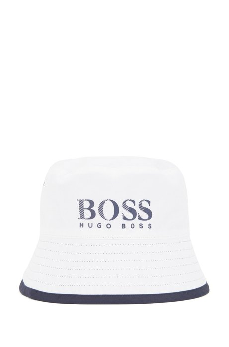 9f0904d21d BOSS - Kids  reversible sun hat with logo detail