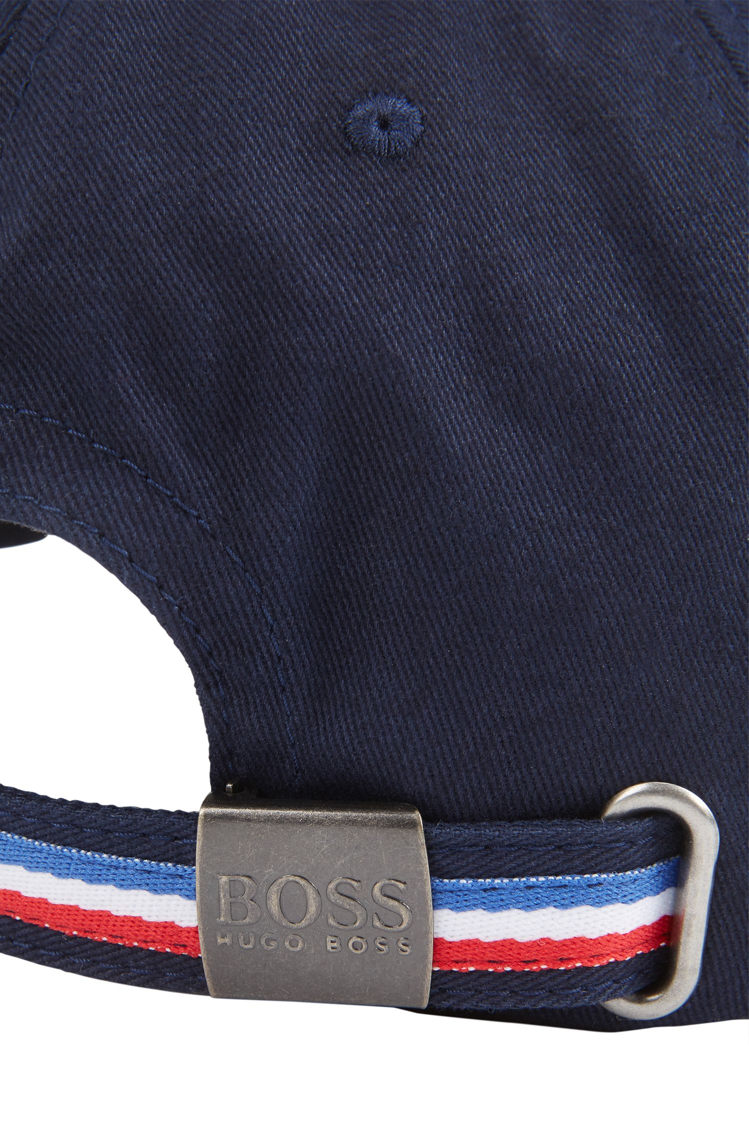 Kids' cap in cotton twill with France's team colours
