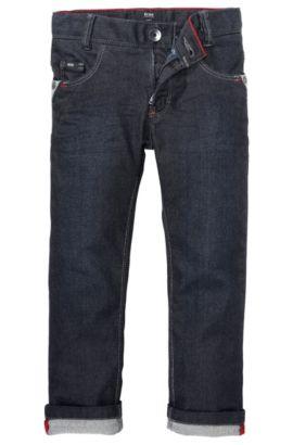 Kids-Jeans ´J24305` aus Baumwollkomposition, Gemustert