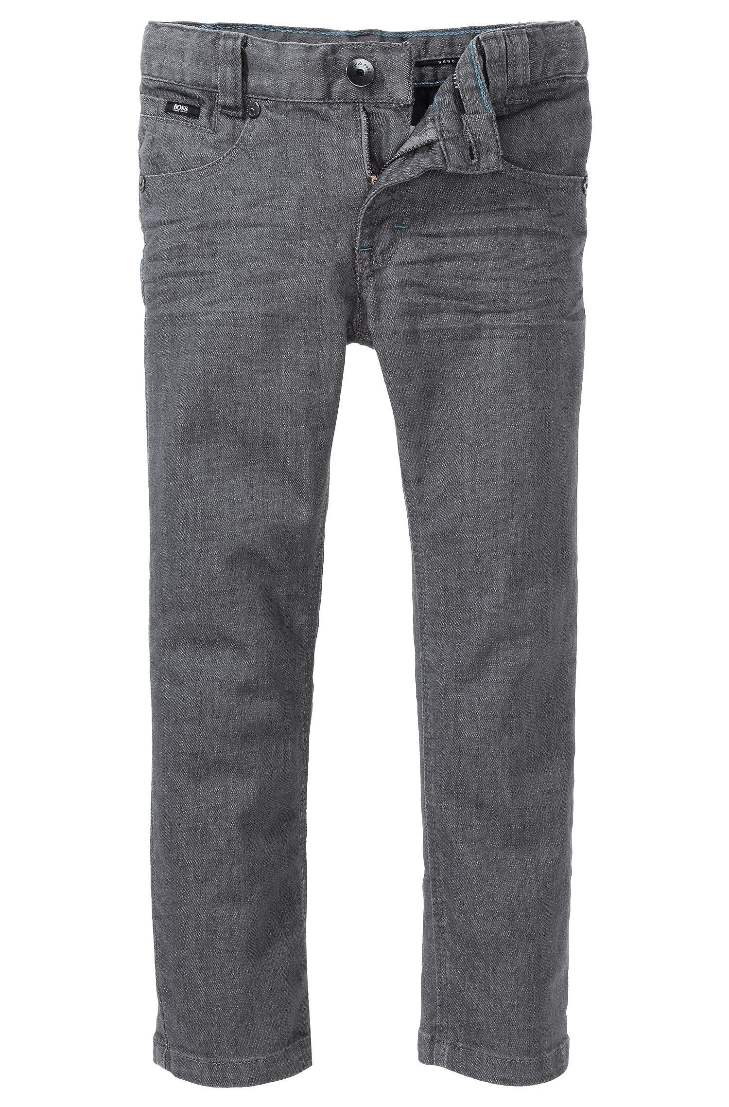 Jeans Kids «J24310» en coton mélangé
