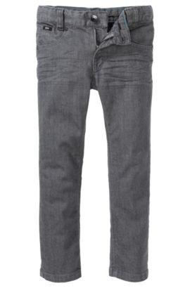 Kids-Jeans ´J24310` aus Baumwollkomposition, Gemustert