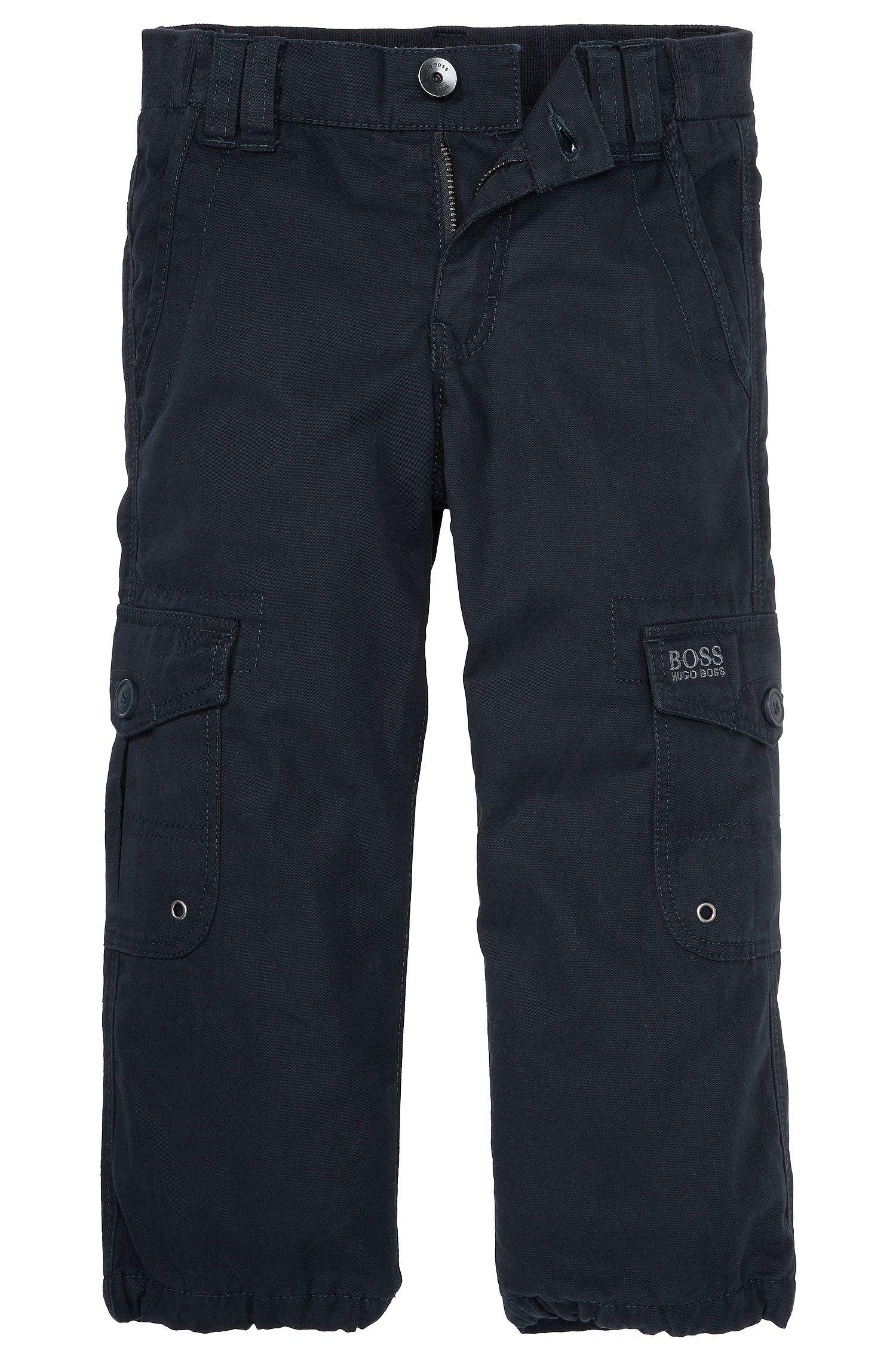 Pantalon pour enfants «J24313» en coton