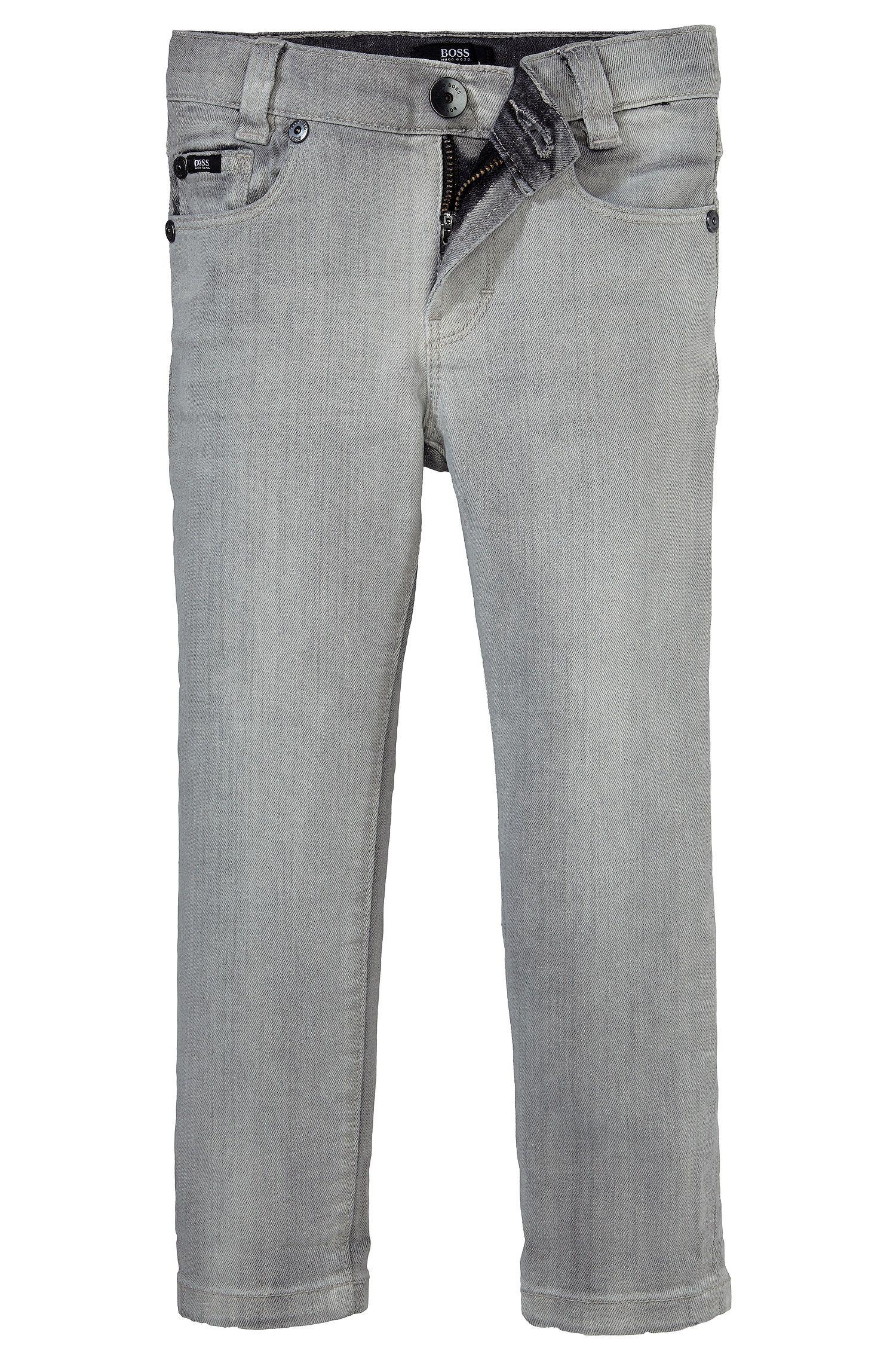 Jeans pour enfant «J24323» en coton mélangé