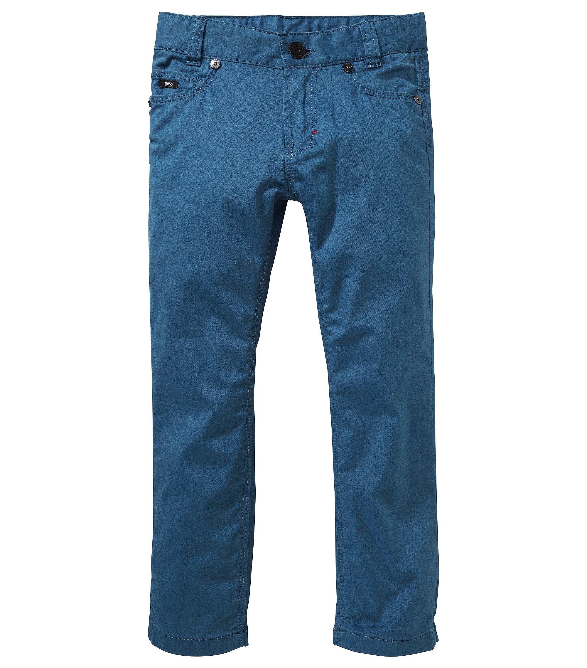 Kids-Jeans ´J24326` mit verstellbarem Gummiband, Dunkelblau