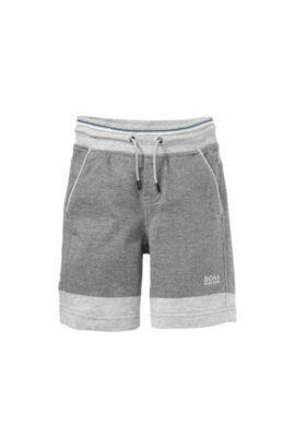 Pantalon de jogging pour enfant «J24335» en coton, Gris