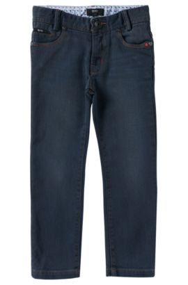 Kids-Jeans aus Baumwoll-Mix: 'J24369', Gemustert