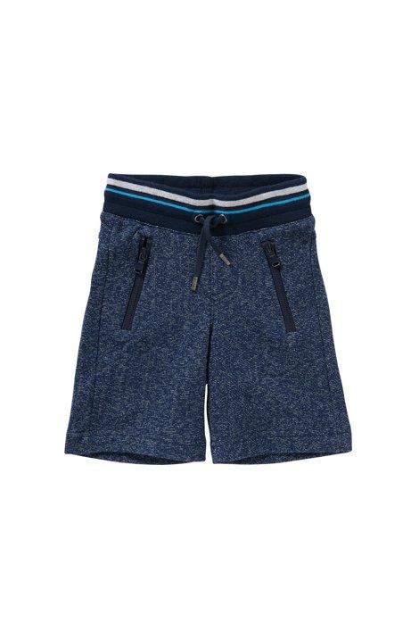 Kids-Sweathose aus Baumwolle mit Tunnelzug: 'J24385', Dunkelblau