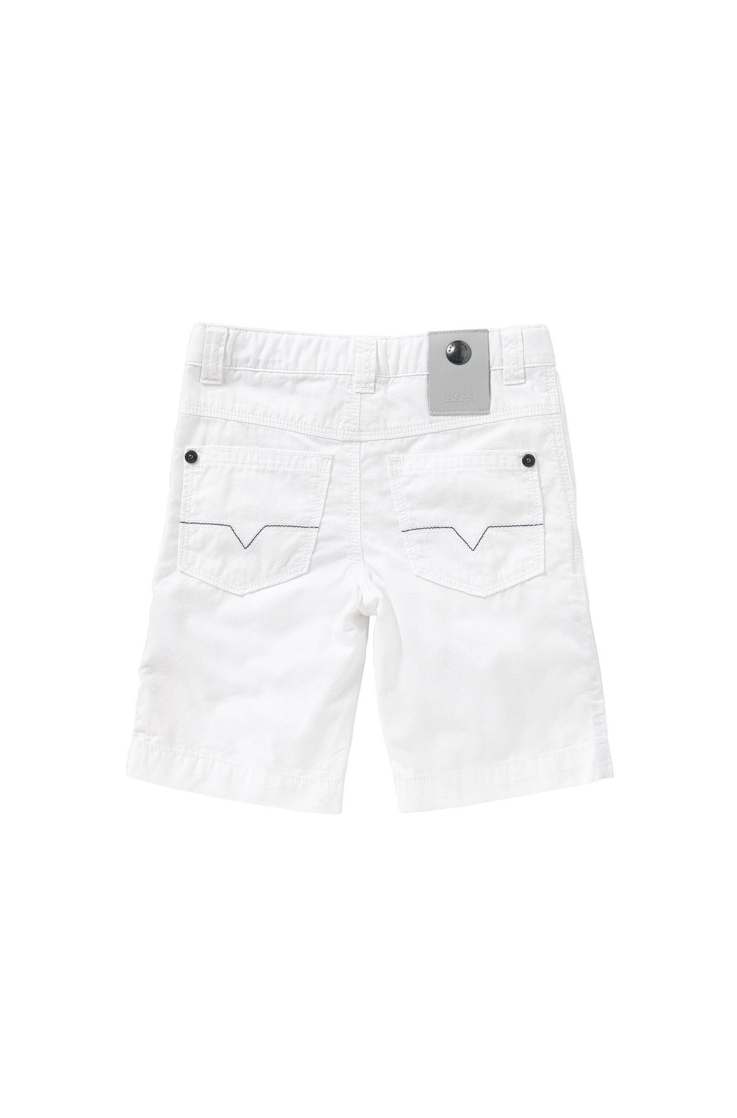 Short Regular Fit pour enfant en pur coton: «J24386»