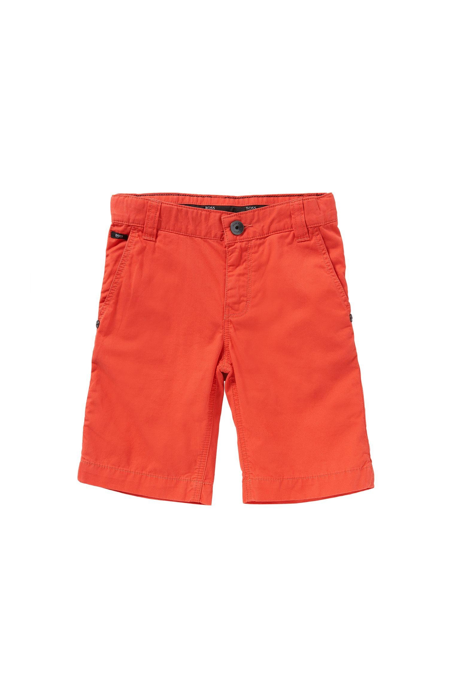 Regular-fit kids' shorts in pure cotton: 'J24386'