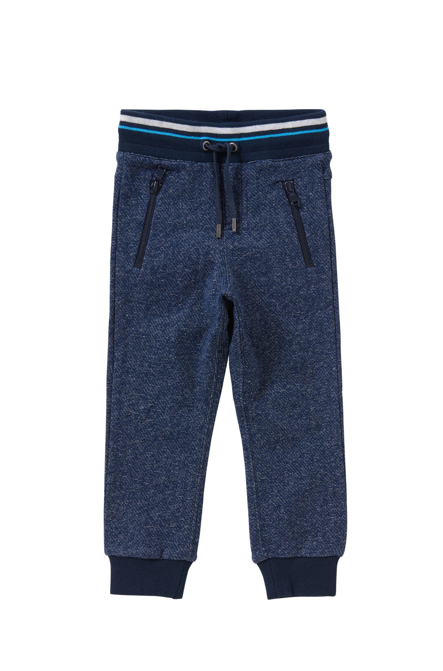 Kids-Sweathose aus Baumwolle mit Tunnelzugbund: 'J24392'