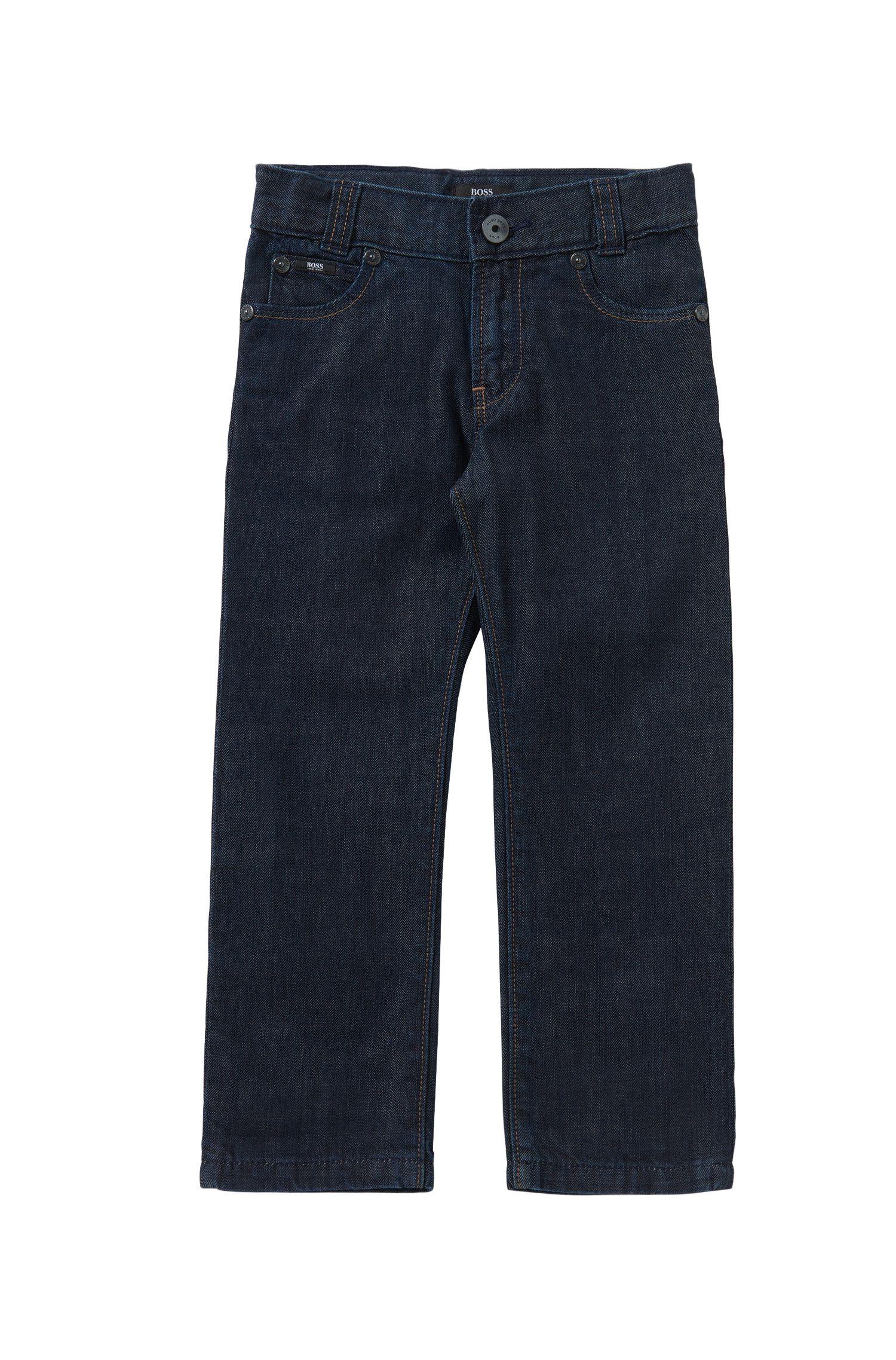 Regular-Fit Kids-Jeans aus reiner Baumwolle: 'Alabama'