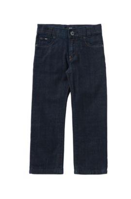 Regular-Fit Kids-Jeans aus reiner Baumwolle: 'Alabama', Gemustert
