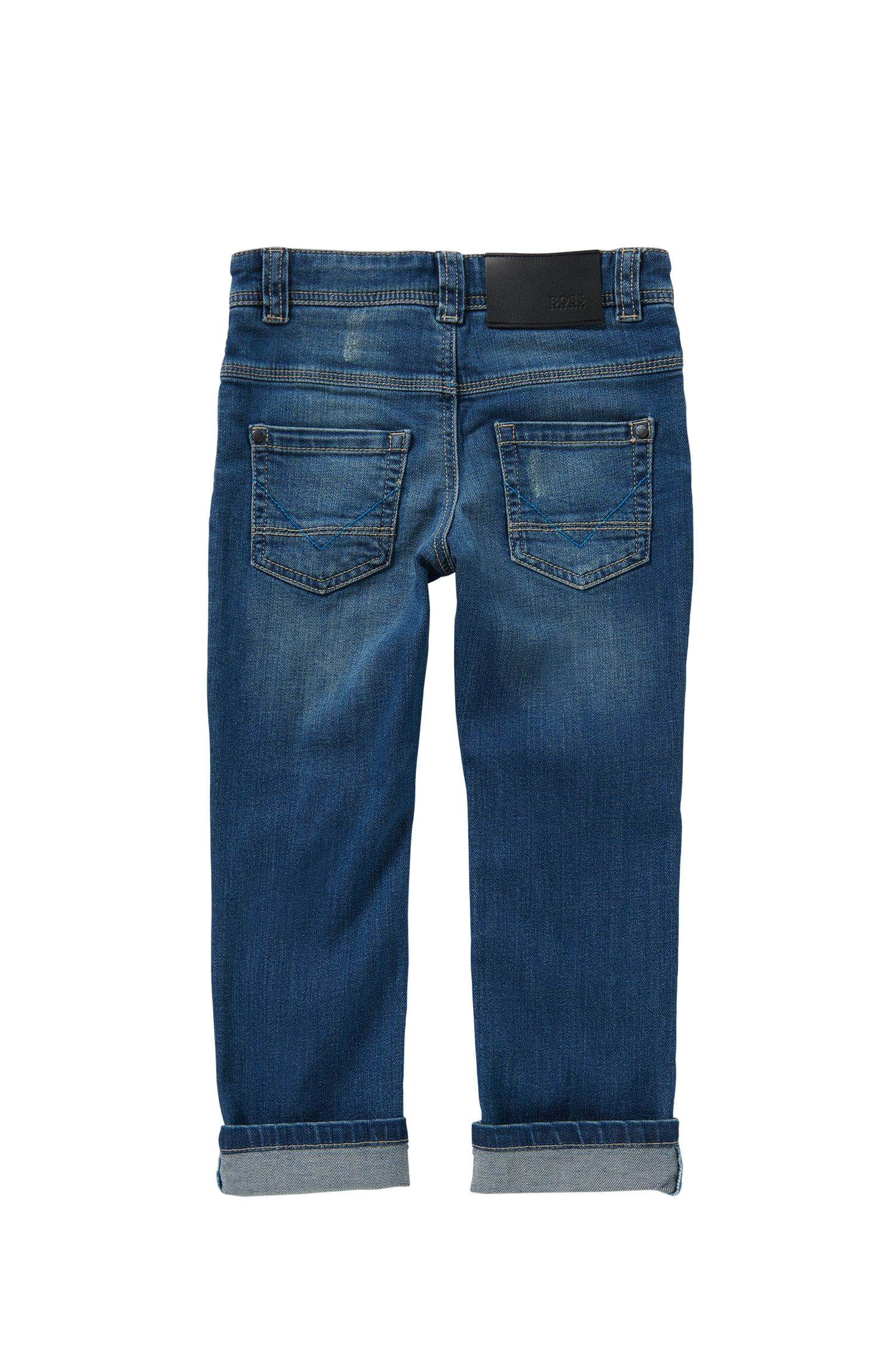 Jeans pour enfant Slim Fit en coton stretch : « Montana »