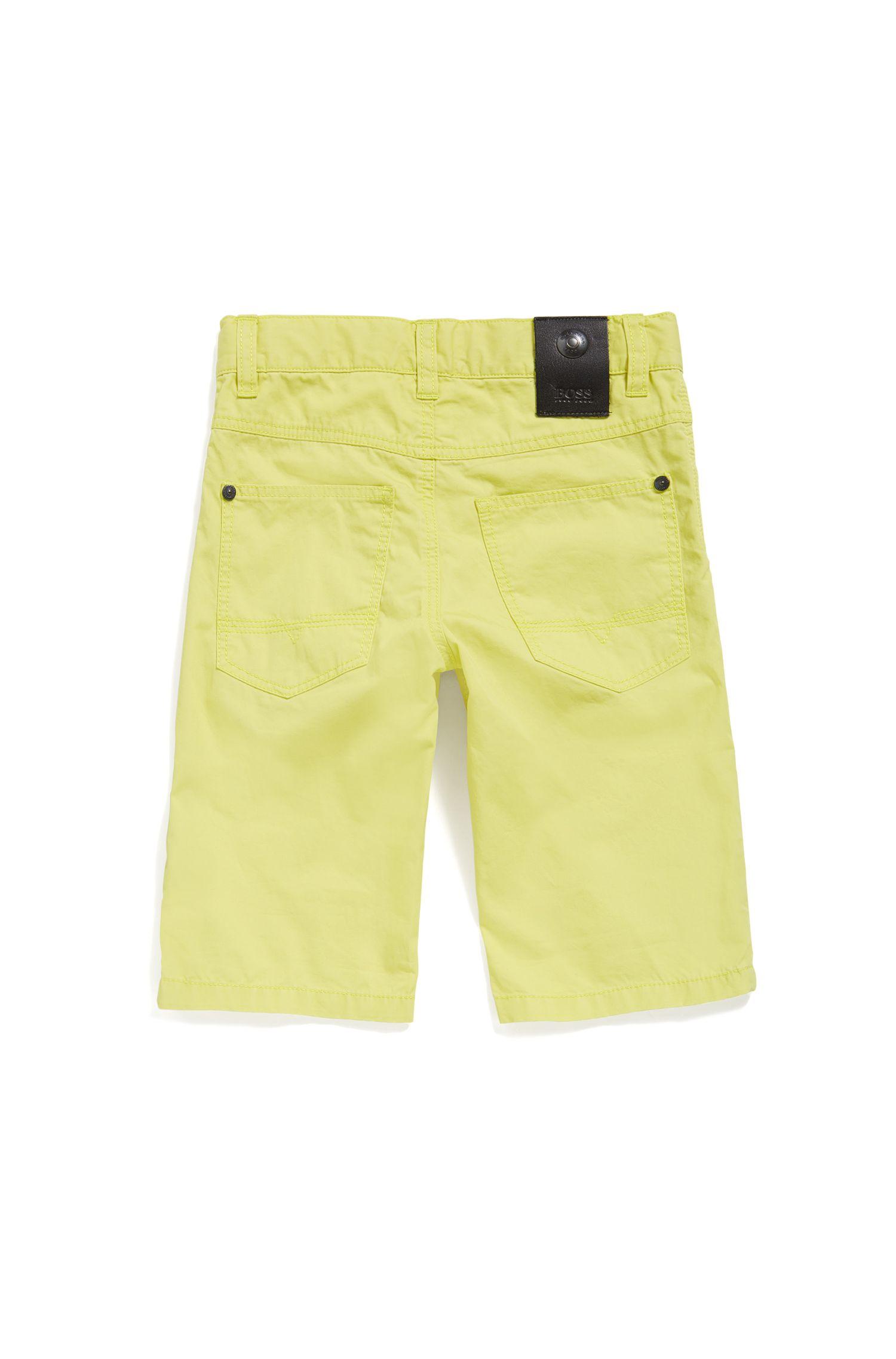 Short pour enfant en coton au style 5poches: «J24433»