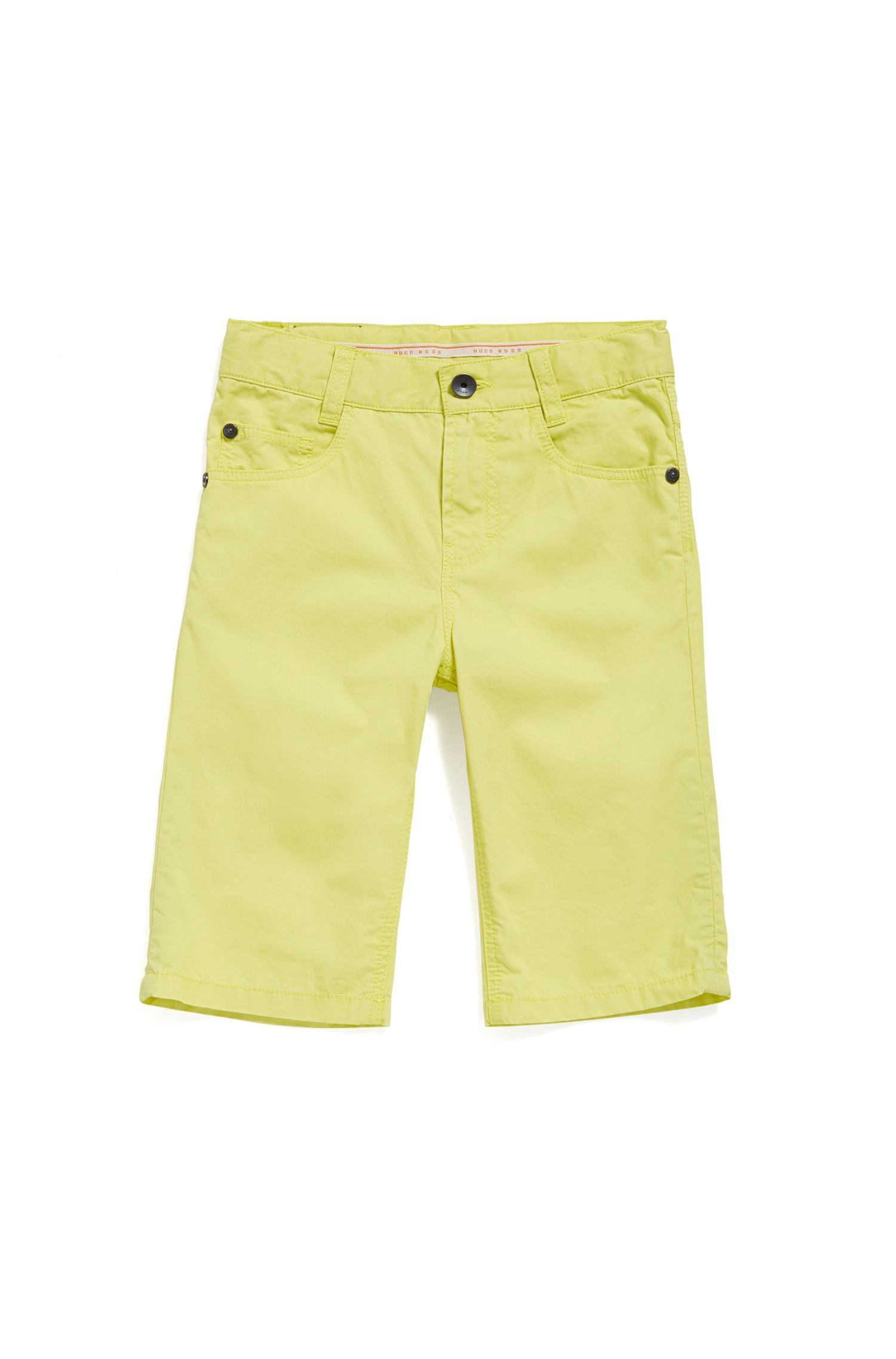 Shorts para niño en algodón con estilo de cinco bolsillos: 'J24433'