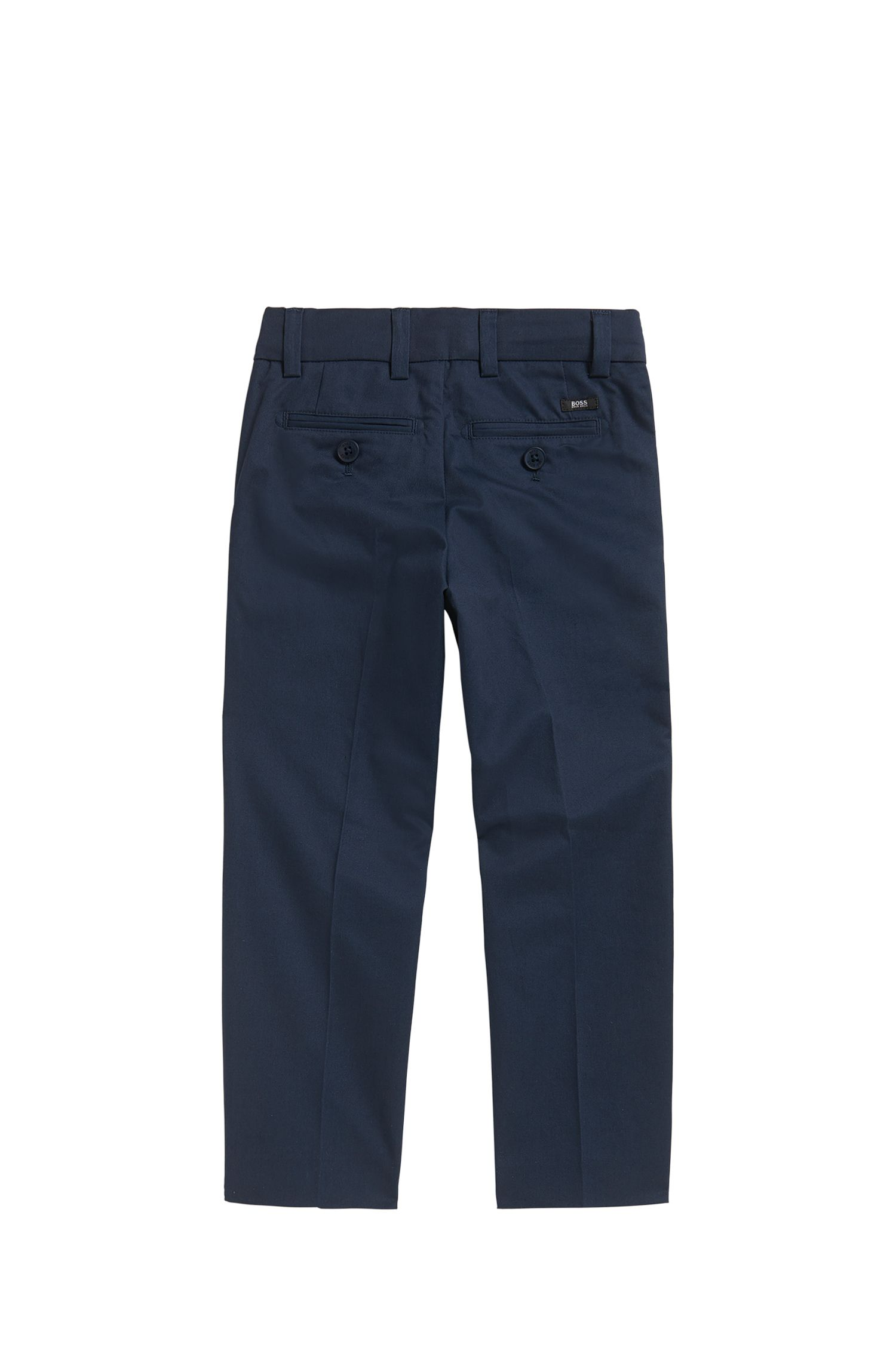 Pantalon de costume Regular Fit pour enfant en twill de coton