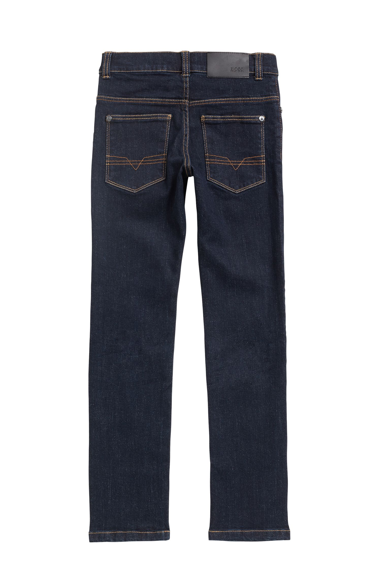 Jean pour enfant en denim stretch Rinsed Washed, Fantaisie