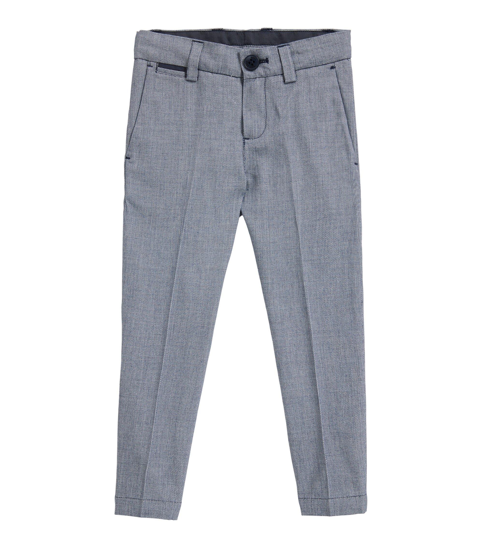 Pantalones de traje para niños en algodón tejido , Fantasía