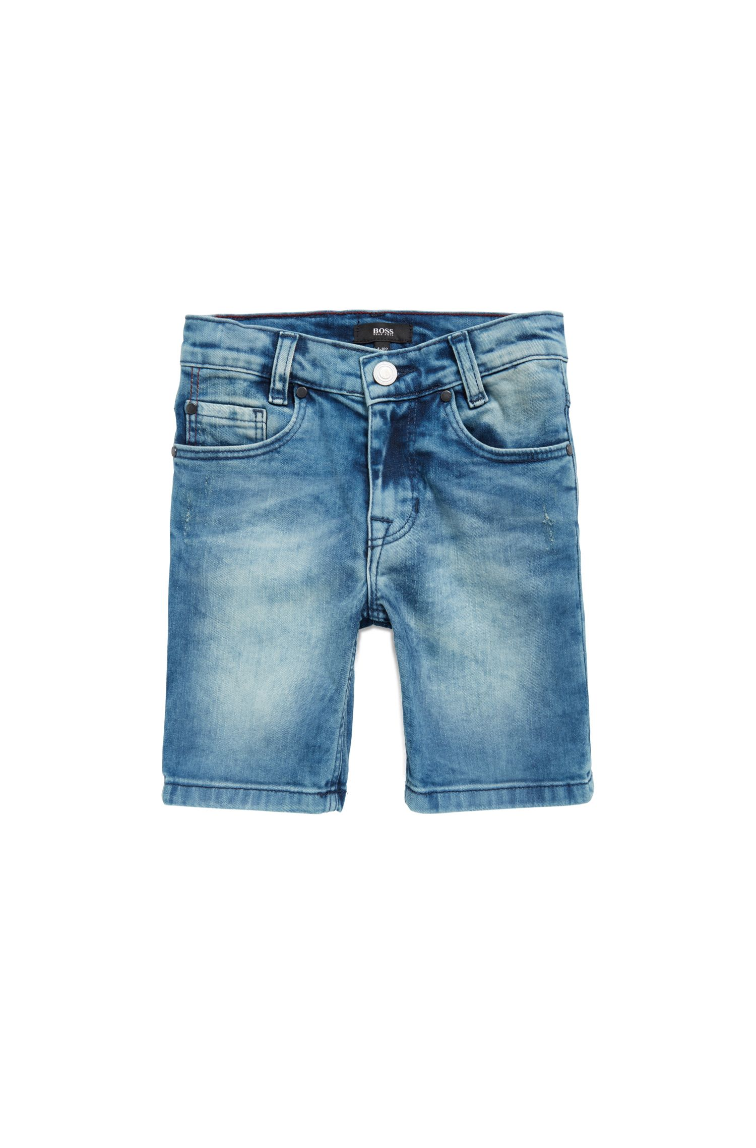 Kids-Bermudas aus Stretch-Denim