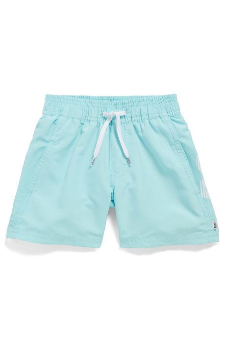 e4ea94f94 Kids' logo swim shorts in quick-dry fabric, Light Blue