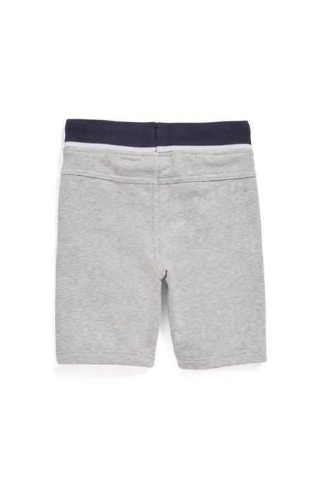 comprare popolare a1783 49331 Pantaloncini da bambino per il tempo libero lunghi fino al ginocchio in  french terry