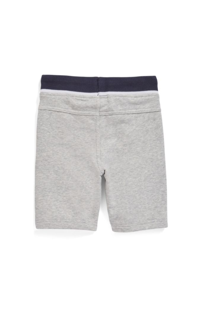 Knielange Kids-Shorts aus French Terry